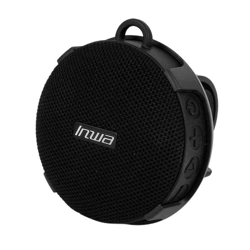 Waterproof Bluetooth Wireless Speaker, Smart Soundbar Shower W/ Bike Mount