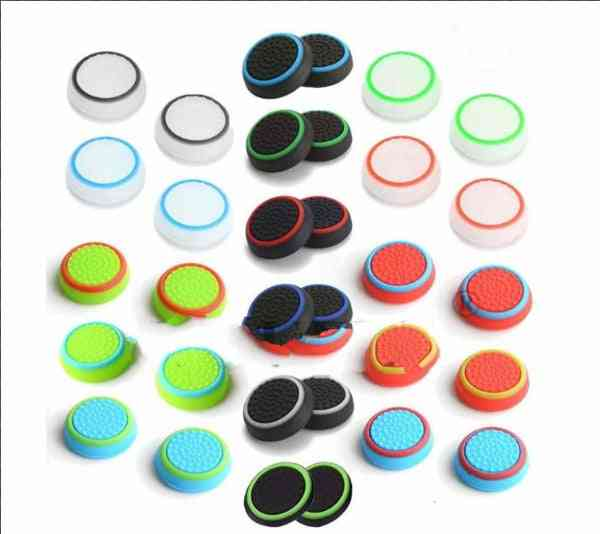Silicone Analog Thumb Stick Grips Cover For Ps4 - Ps3 Controller Thumbstick Caps