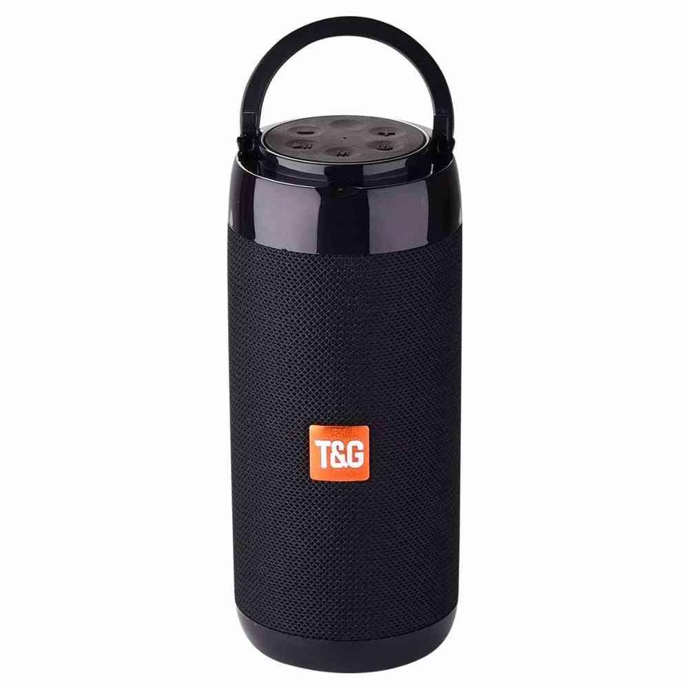 Portable Bluetooth Mini Speaker With Fm Radio - Wireless Loudspeakers & Phone Holder