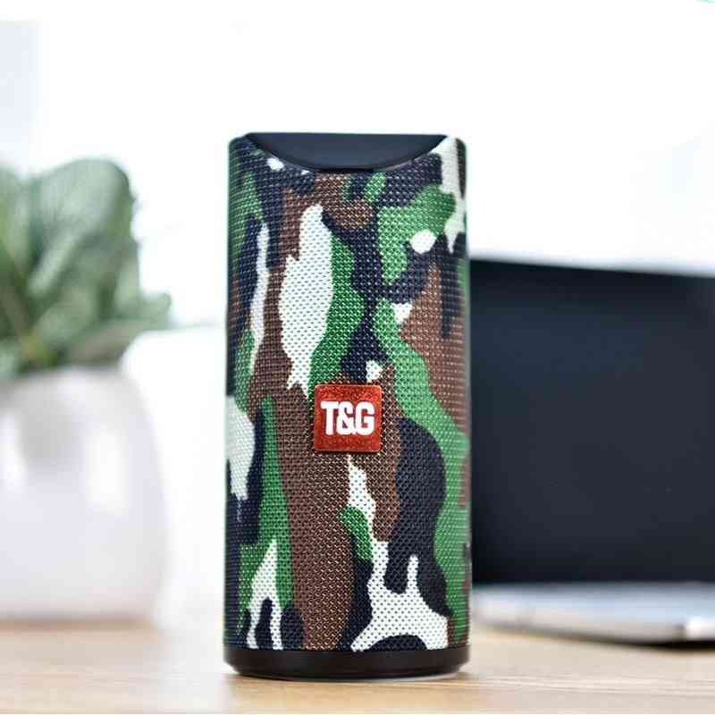 Portable Outdoor Mini Bluetooth Speaker - Stereo Music Surround Support