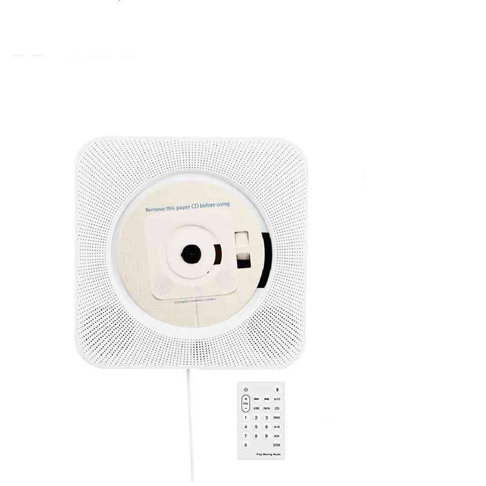 Wall Mounted Bluetooth Cd Player -portable With Remote Control