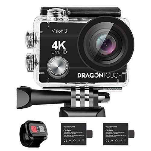 Dragon Touch 4k 16mp Vision Action Camera