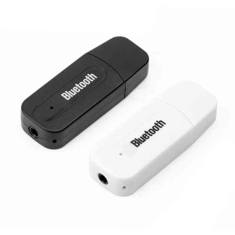 Mini Bluetooth Aux Stereo Audio Music Car Receiver & Adapter
