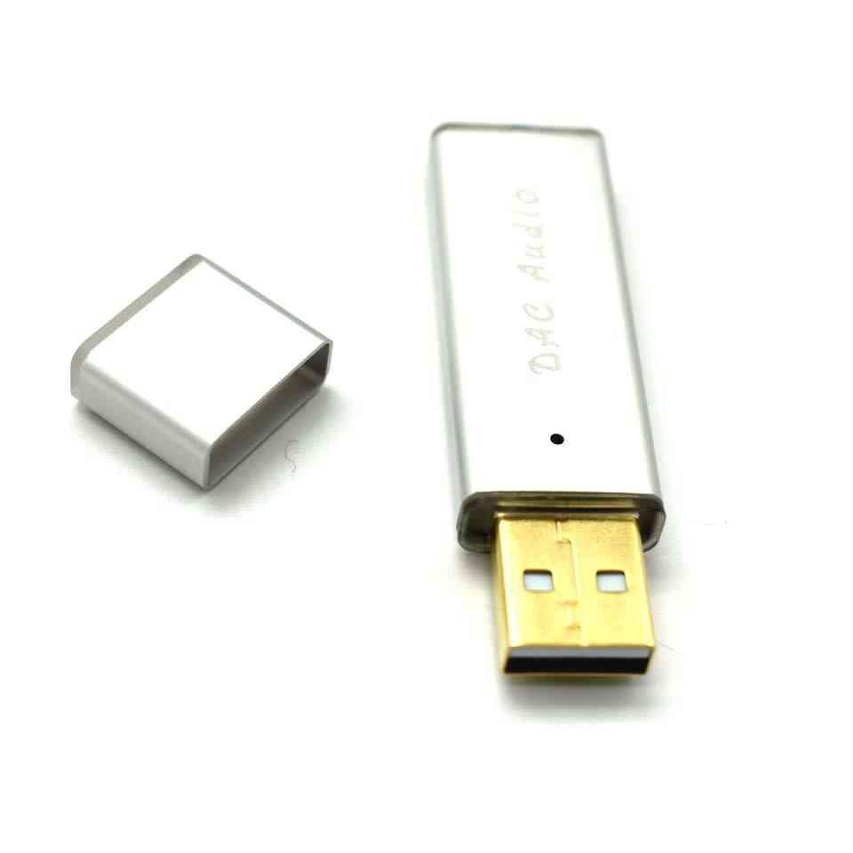 Usb Mini Portable Dac - Decoder Amplifier Hifi Fever Sound Card