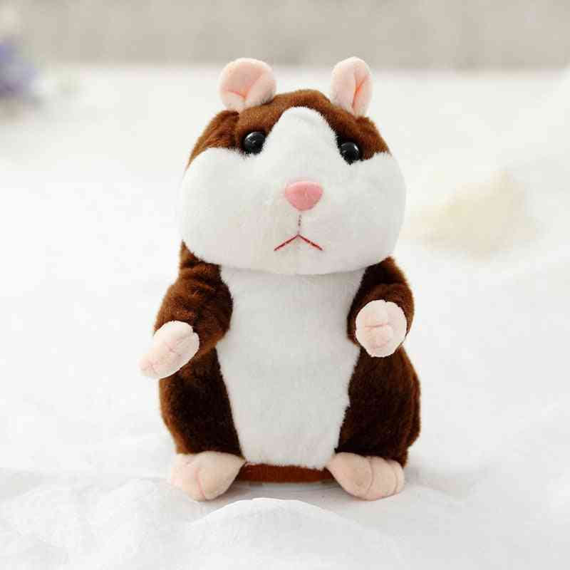 Hamster Speaking Plush- Electronic Stuffed Animals For