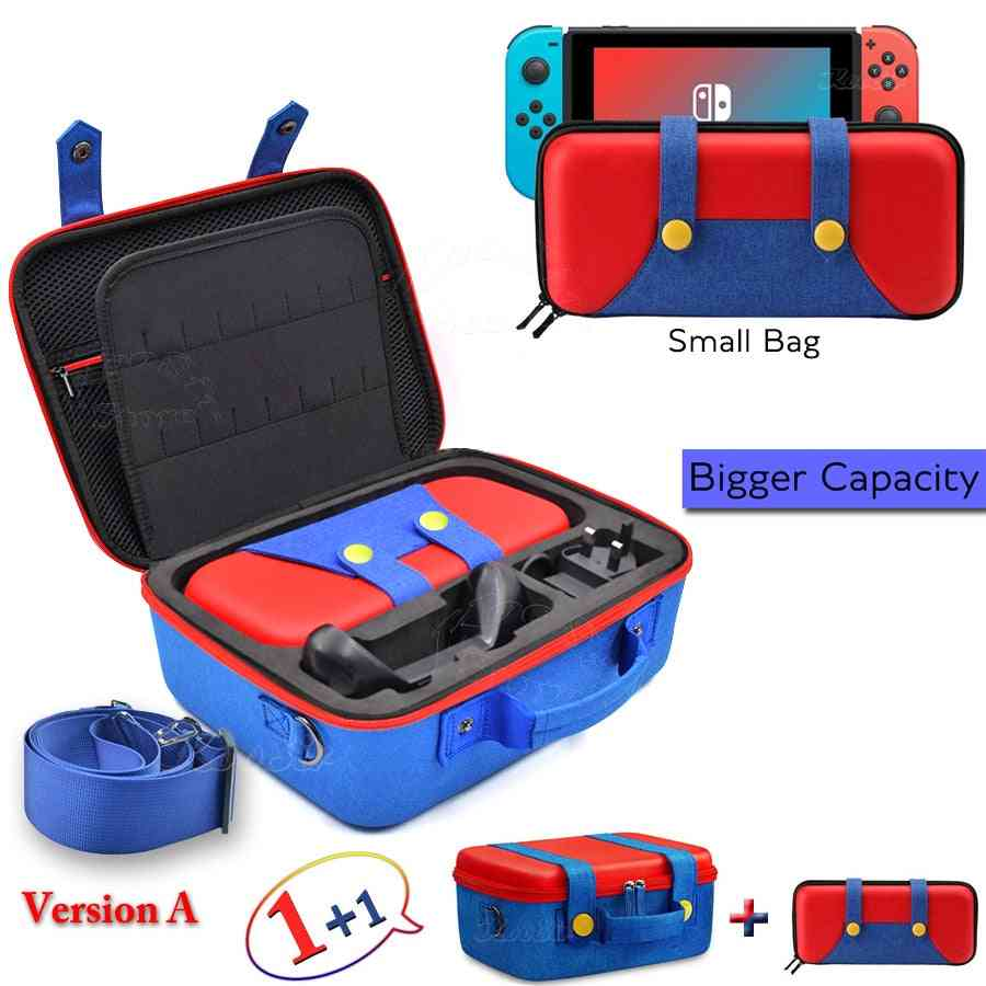 Big Case, Carrying Storage Cover, Hand Bag, Box For Nintendo Switch