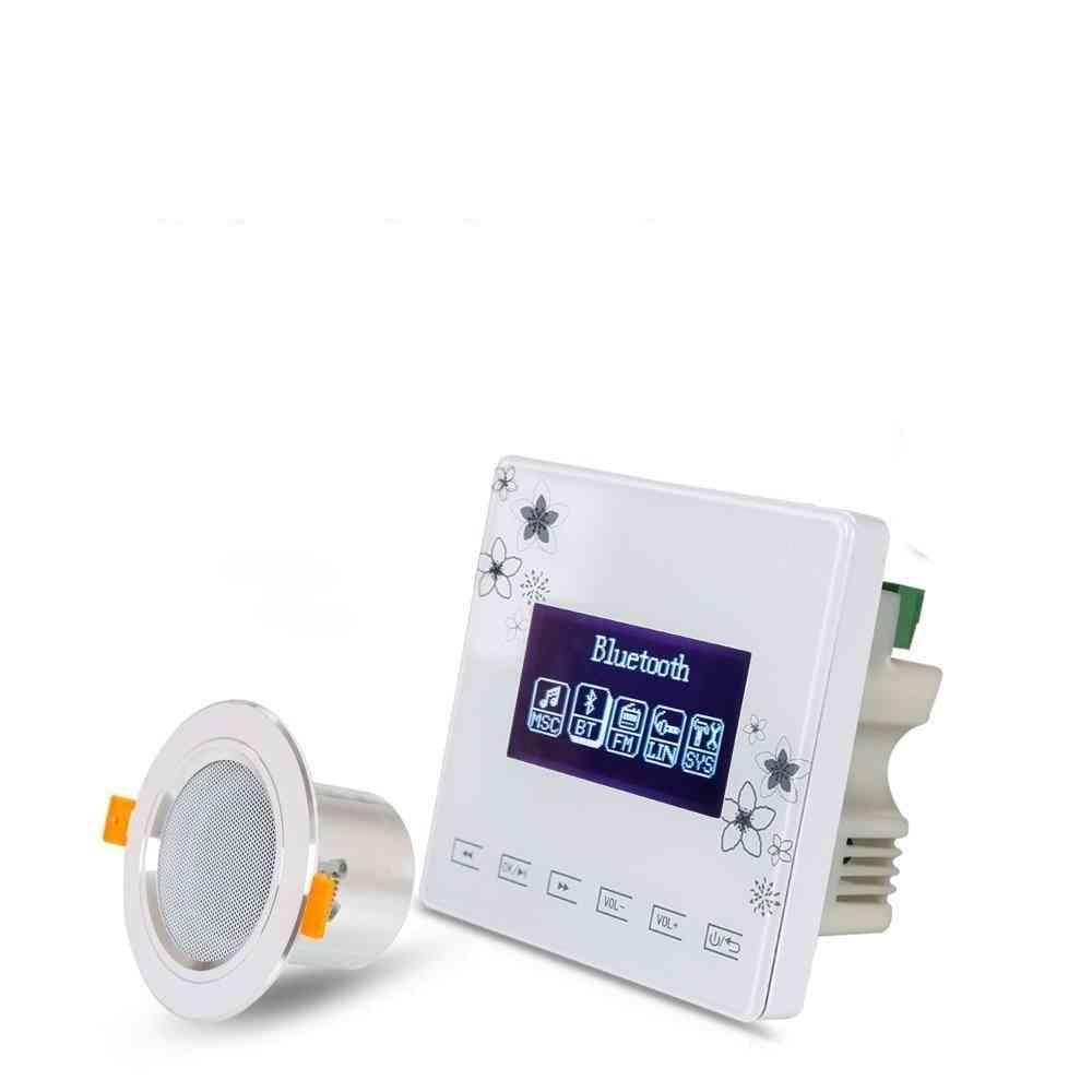 In-ceiling Speakers - Bluetooth Wall Amplifier