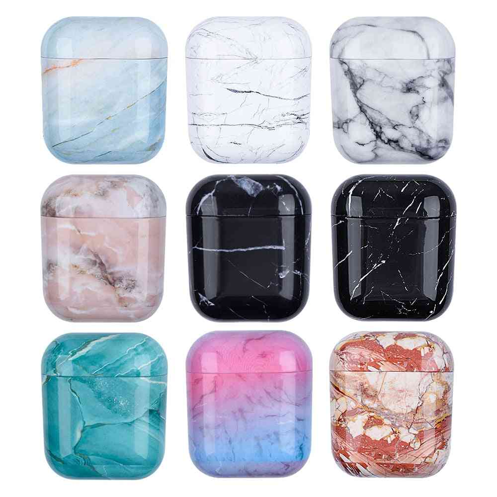 Marble Pattern Cases - Airpods, Earphone Case Cute Cover