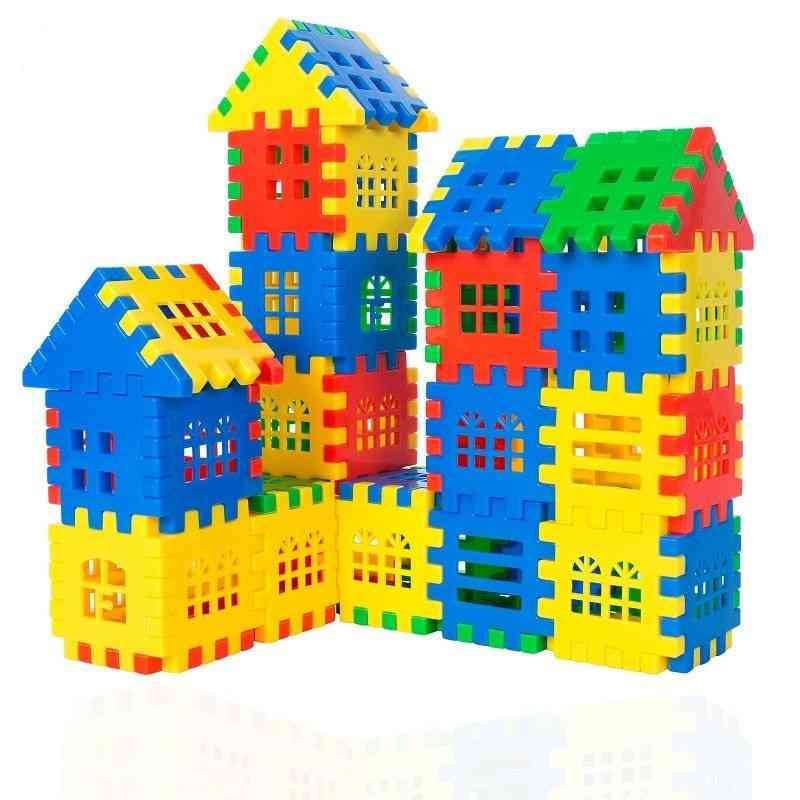 Constructor Building Blocks Plastic Brick Interconnecting Blocks Construction