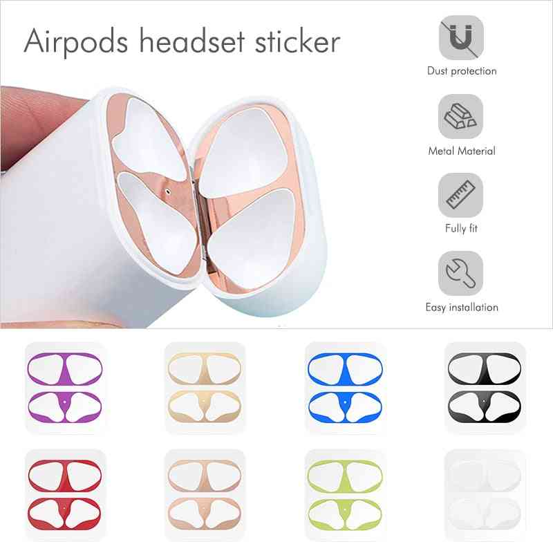 Dust-proof Scratchproof Sticker For Apple Air Pods