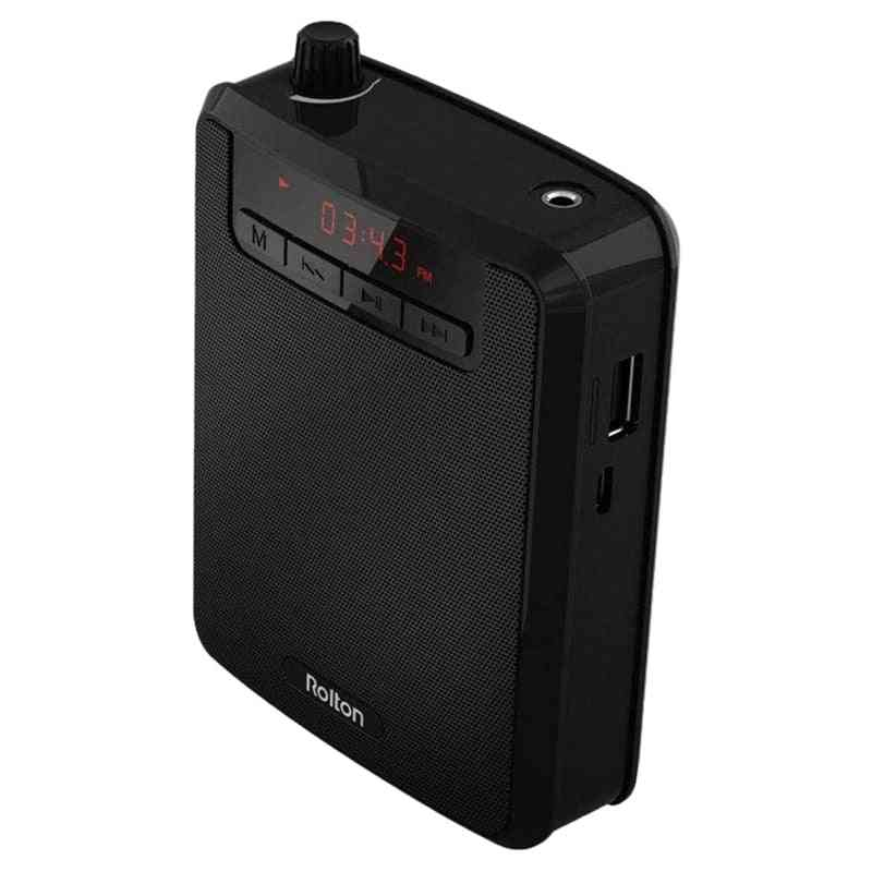 Portable Voice Amplifier For Teaching