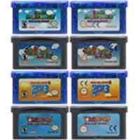32 Bit Video Game Cartridge Console Card For Nintendo - Gba Super Mariold Advance Series English Language Edition