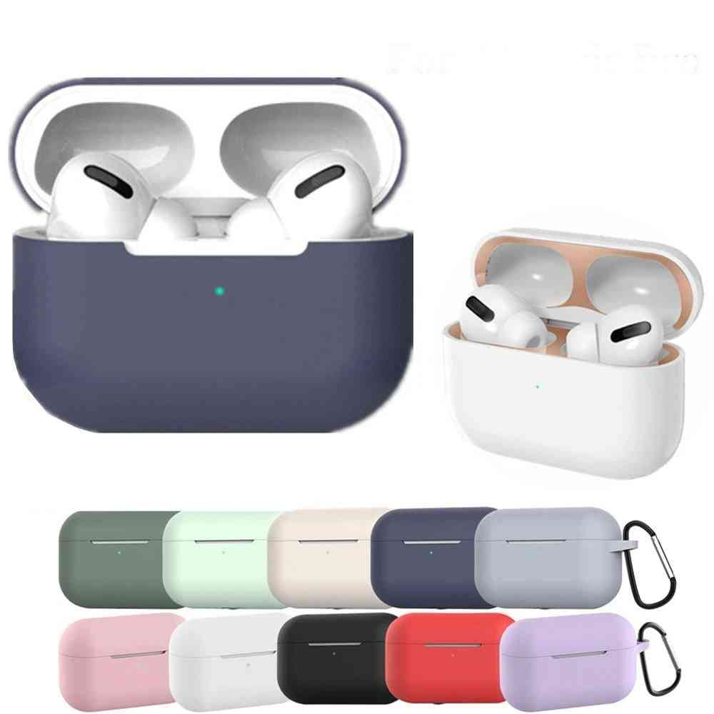 Silicone Cover Sticker, Bluetooth Case For Airpods 3