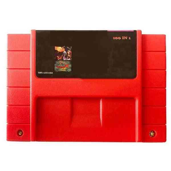 Mega Drive-100 In 1 Game Cartridge For 16 Bit Ntsc Console