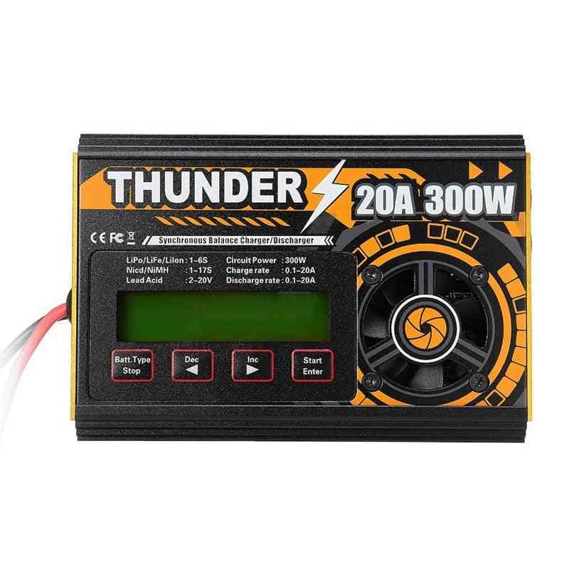 Hota Thunder , 10a Dc Balance Charger, Discharger For Lipo Nicd Pb Battery
