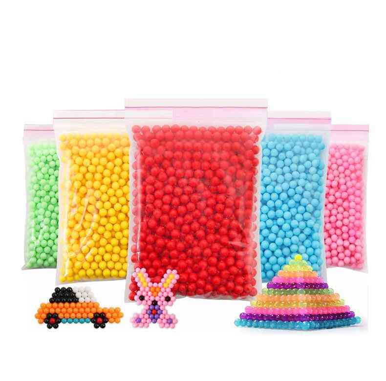 Water Sticky Beads-crystal Spray Colors For Kids