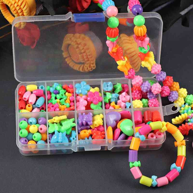 Beads For - Diy Handmade Necklaces And Bracelets Girl Puzzles Educational
