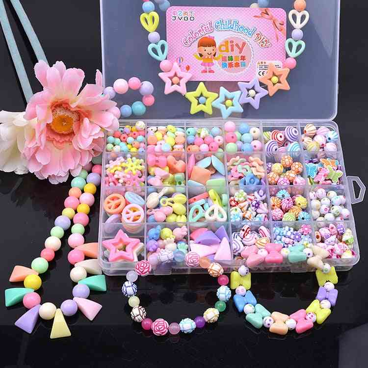 Diy Making Puzzles Beads, Bracelets For