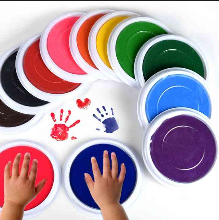 Finger Painting Drawing - Colored Craft Ink Pad Toy
