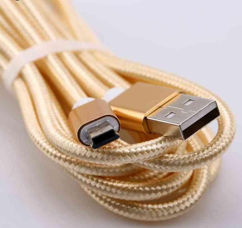 Copper Mini Usb Data Cable Cord Adapter