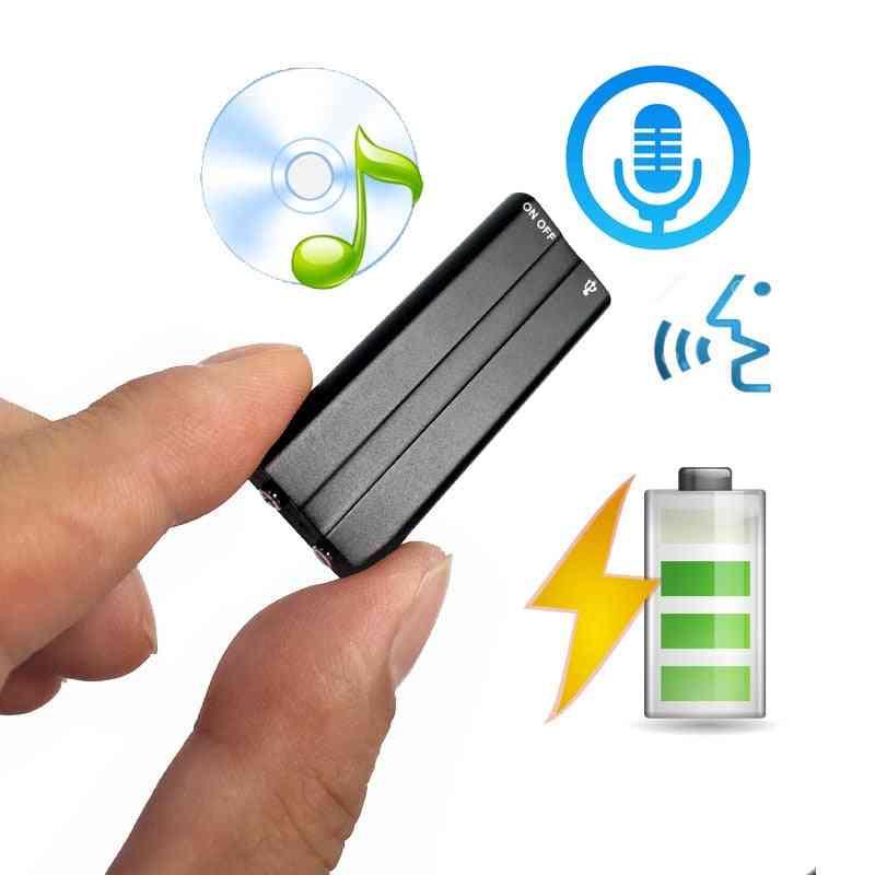 Mini 8gb Clip Usb Voice Activated - Digital Audio Voice Recorder