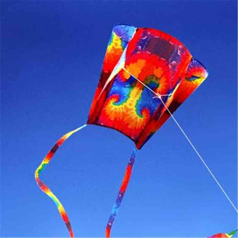 Parafoil Kite With Tails - Outdoor Soft Fly For