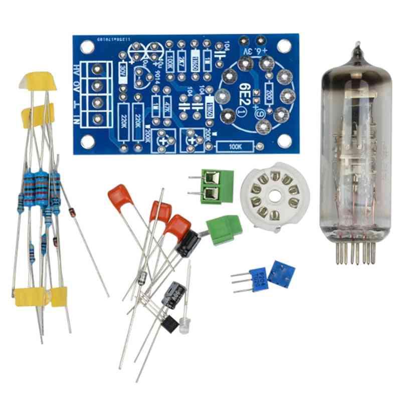 6e2 Tube Preamplifier Audio Board For Volume Indication, Vacuum Tone Signal Diy Kit