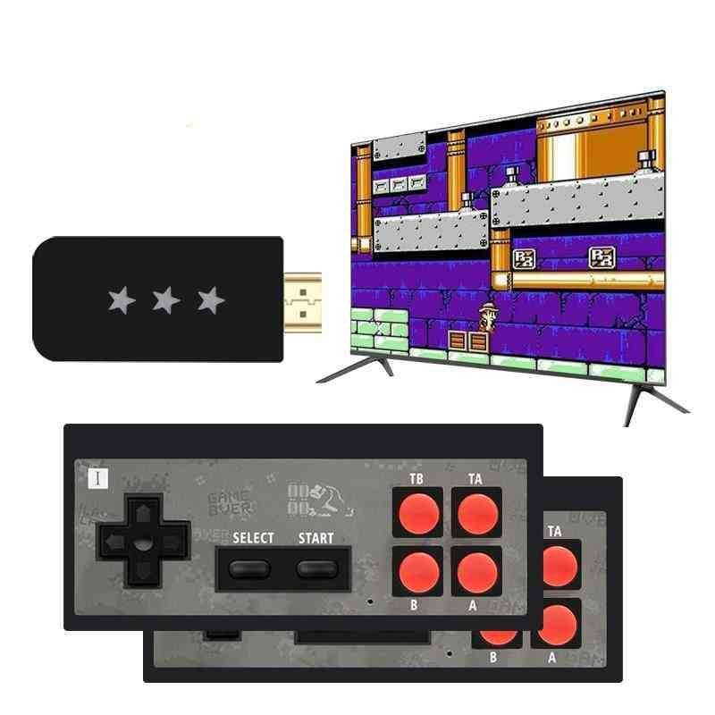 Usb Wireless Handheld Tv Video Game Console With Game Stick And Charging Cable