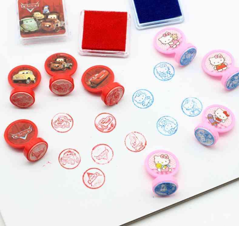 Diy Cartoon Seal Stamper Princess Seal Set