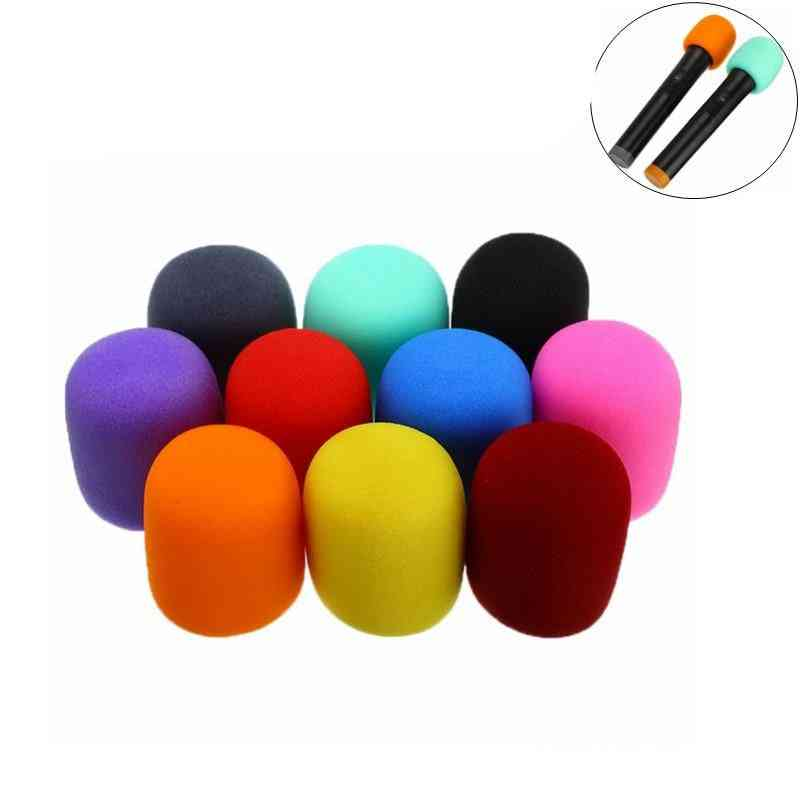 Multi Color, Ball Shape, Handheld Microphone Windscreen Cover