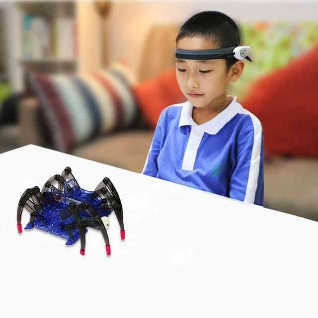 Children's Educational-spider Design, Brain Wave Detector Robot