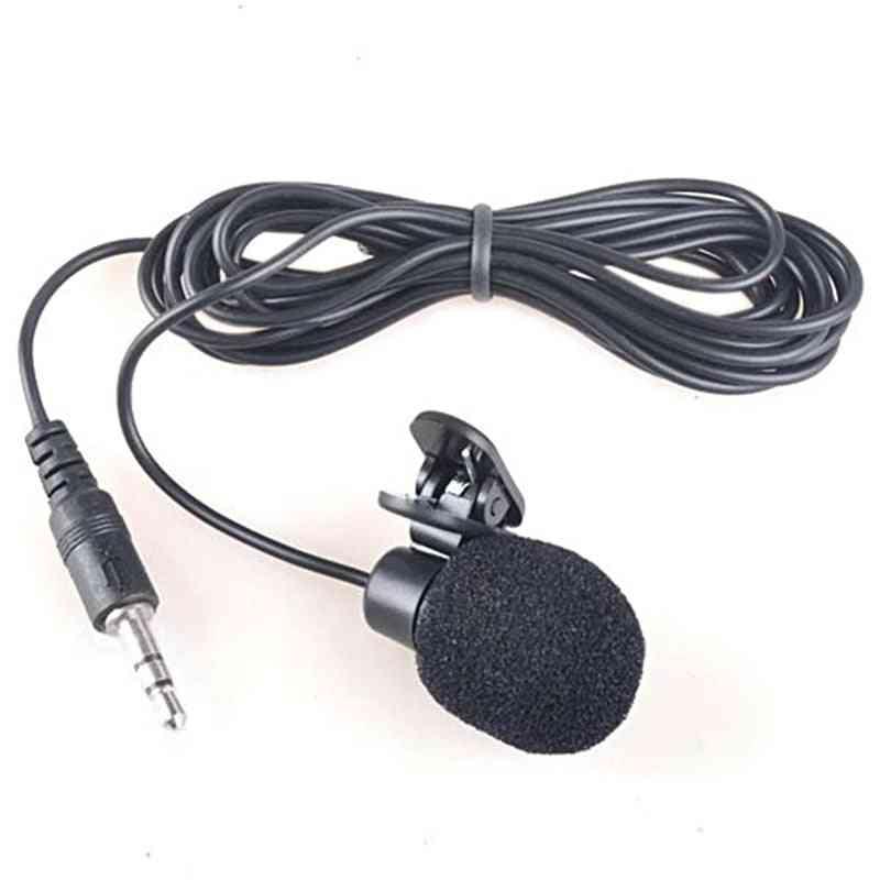 Mini 3.5mm  Lavaliermicrofone With Clip