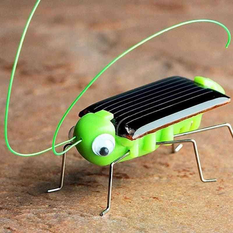 Solar Powered Grasshopper Design-educational Toy For Kids