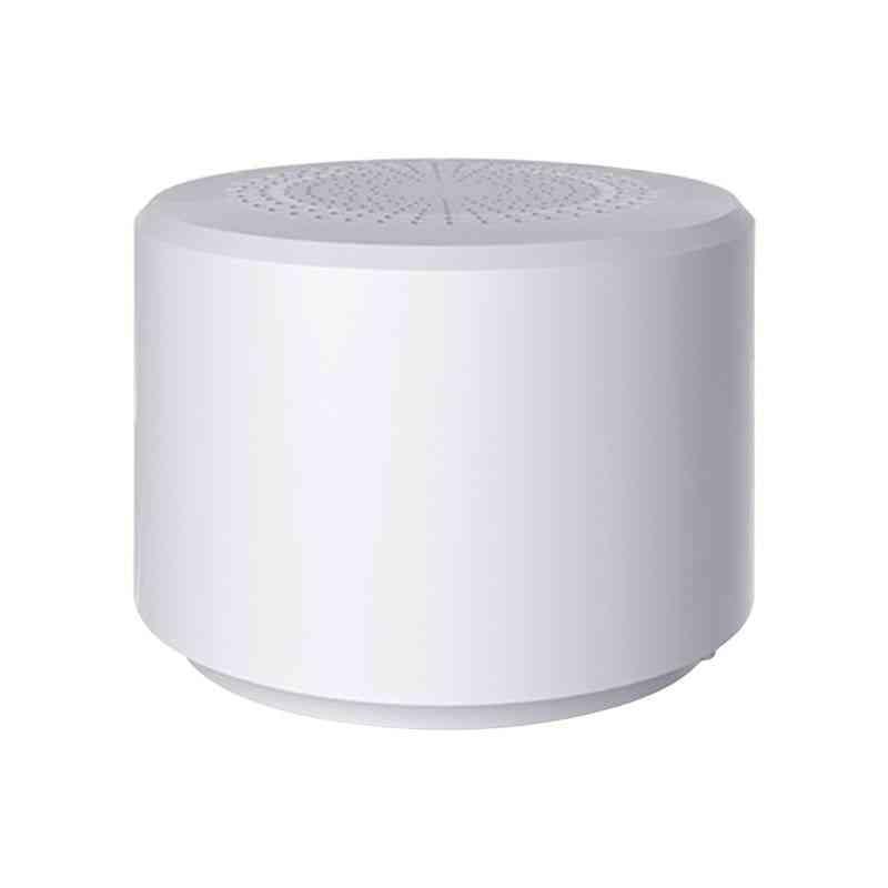 Round Portable Mini Wireless Bluetooth Speaker For Subwoofer Smart Voice Contro