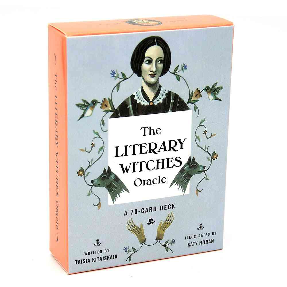 The Literary Witches Oracle Cards - Answers To Questions About Your Creative Life Spiritual Journey