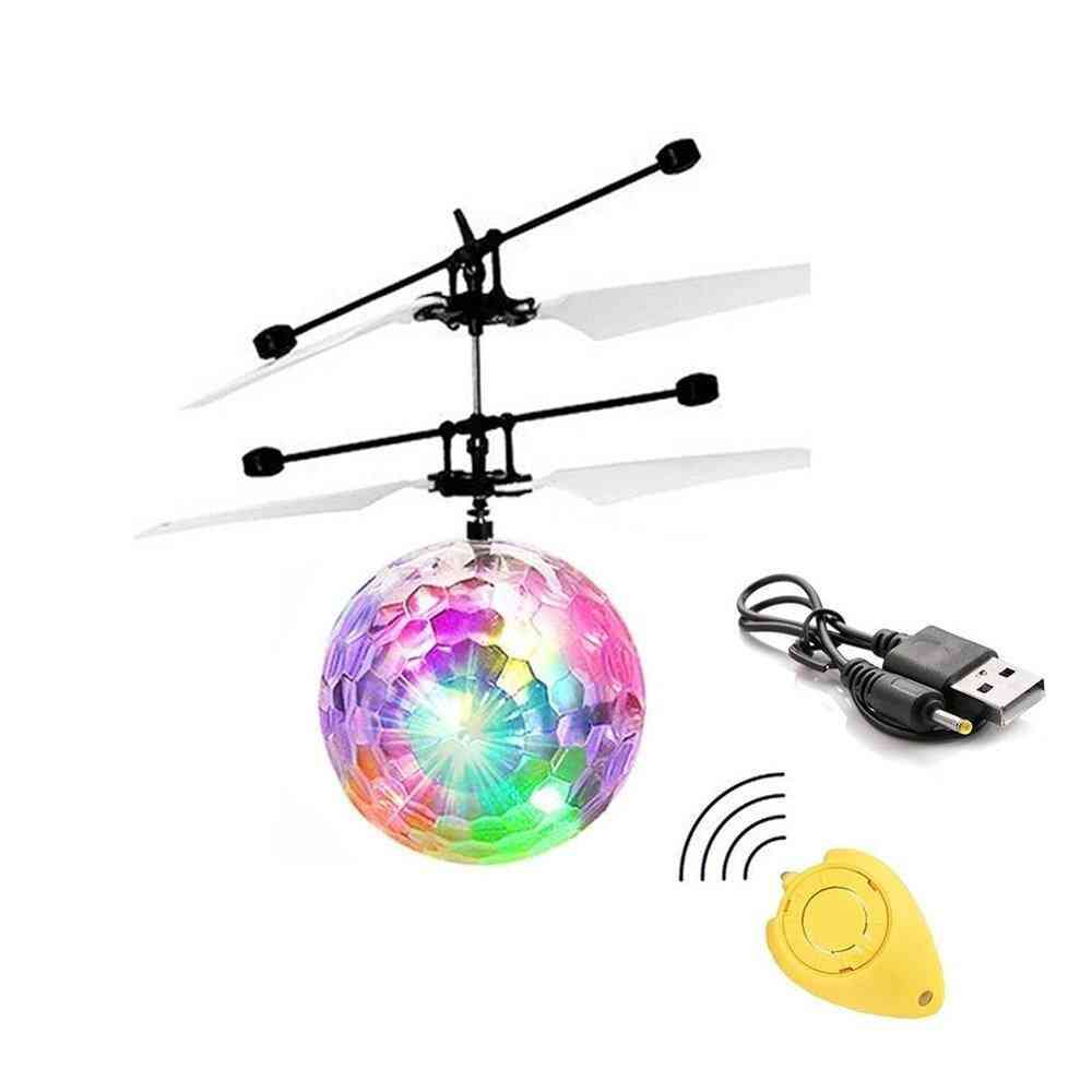 Anti-collision Magic Aircraft - Mini Induction Drone Electronic Antistress Toy For