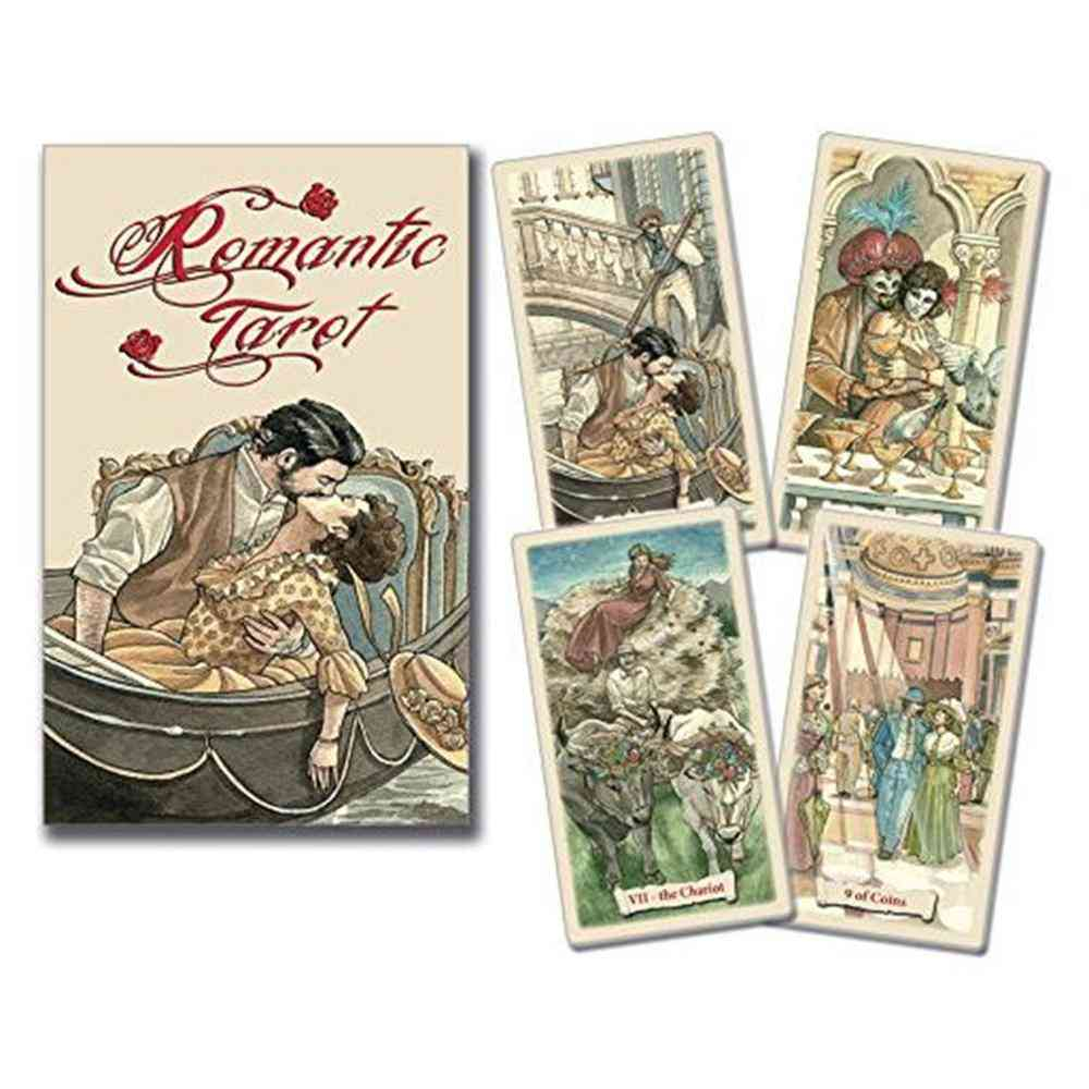 Romantic Oracle Cards - Deck Mysterious With Box Pdf Guidebook