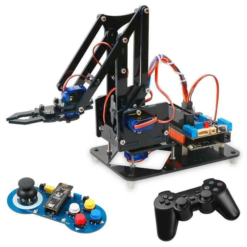 4dof Robot Arm Kit - Educational Robotics Claw Set