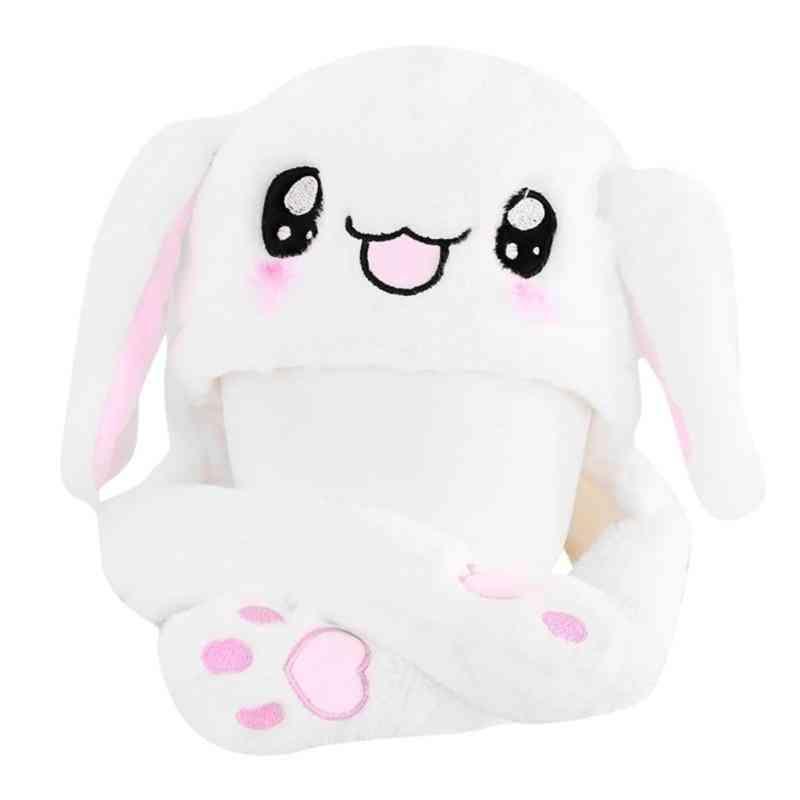 Novelty Magic Rabbit Hat With Moving Ear Plush Toy