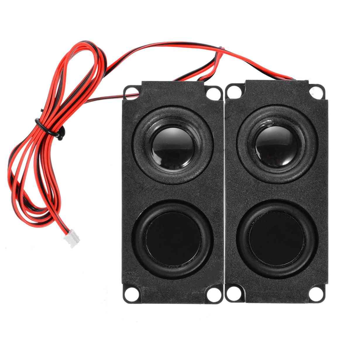 Audio Sound Box Loudspeaker, Stereo Subwoofer For Lcd Tv