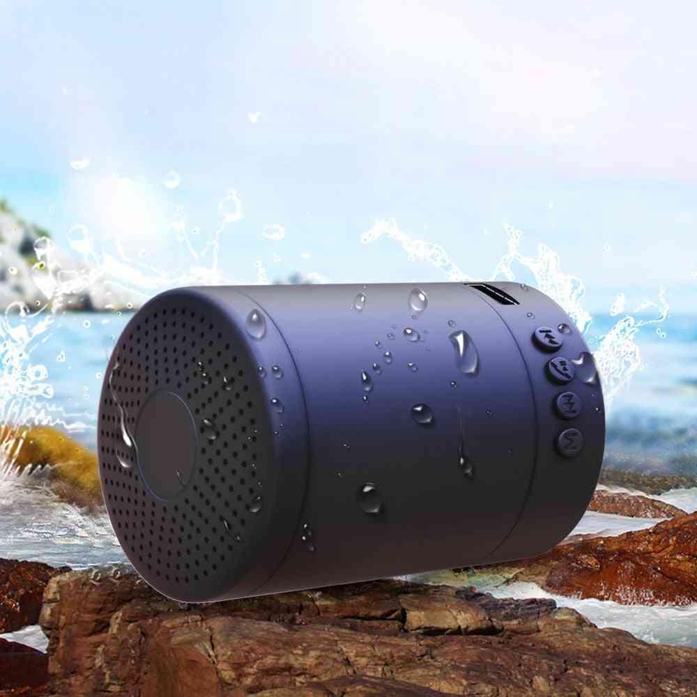 Portable, Stereo, Wireless, Bluetooth Loudspeaker -  Mini Column Music Bass