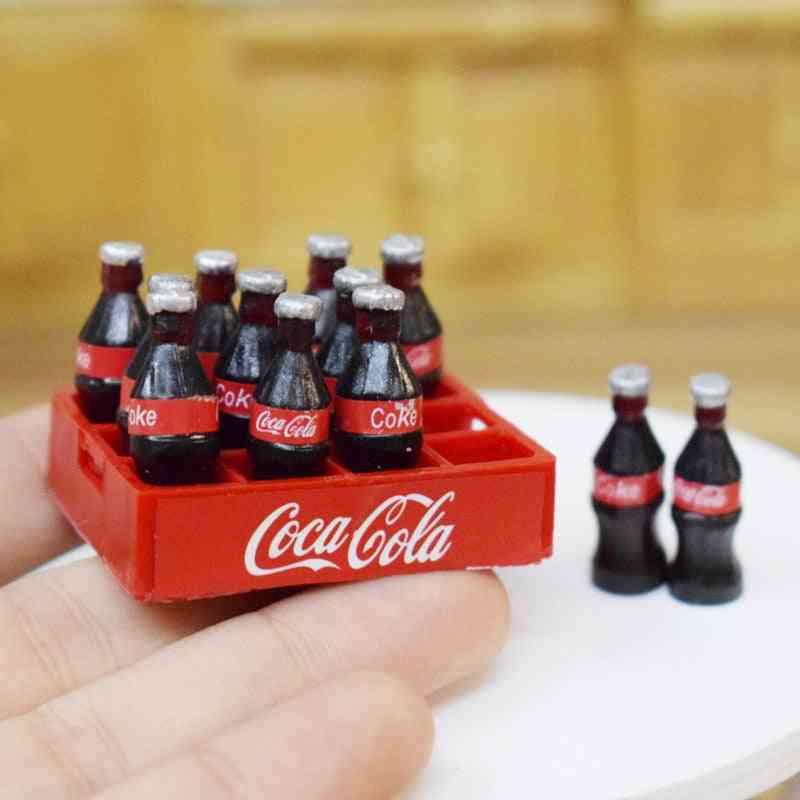Mini Coke Drinks- For Dollhouse
