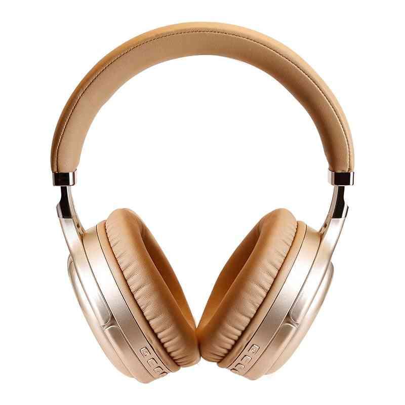 Anc Bluetooth - Wireless & Wired Headphone With Microphone, Earphone, Deep Bass, Hifi Sound Earpiece