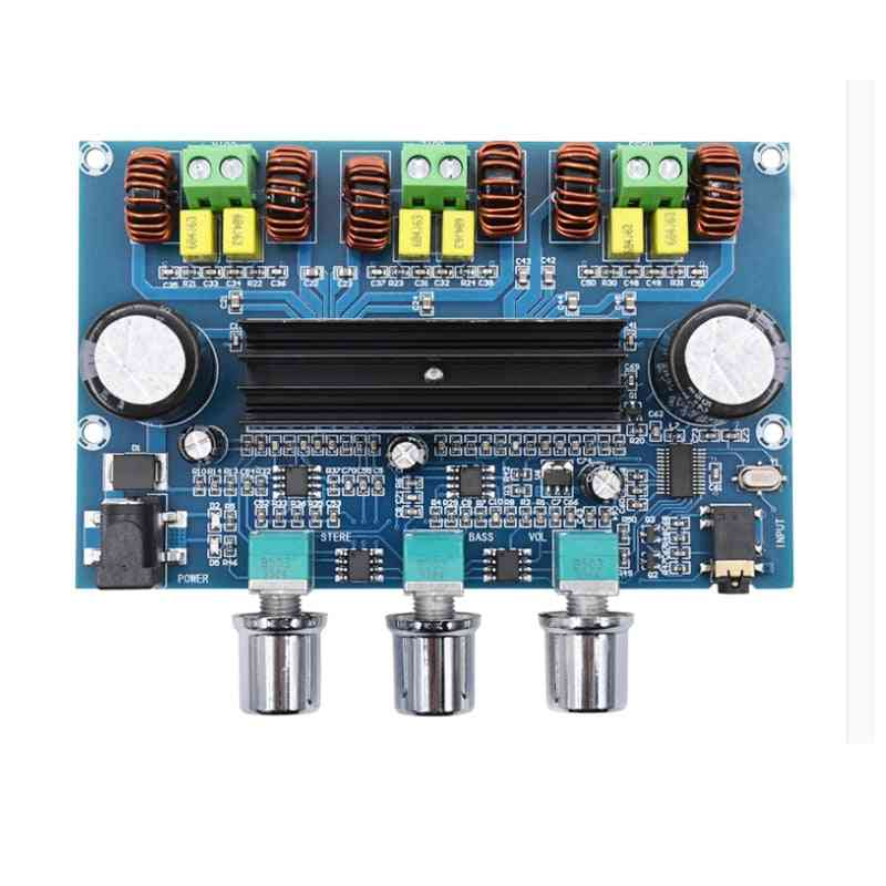 Digital Power Amplifier Board, Stereo With Bluetooth 5.0