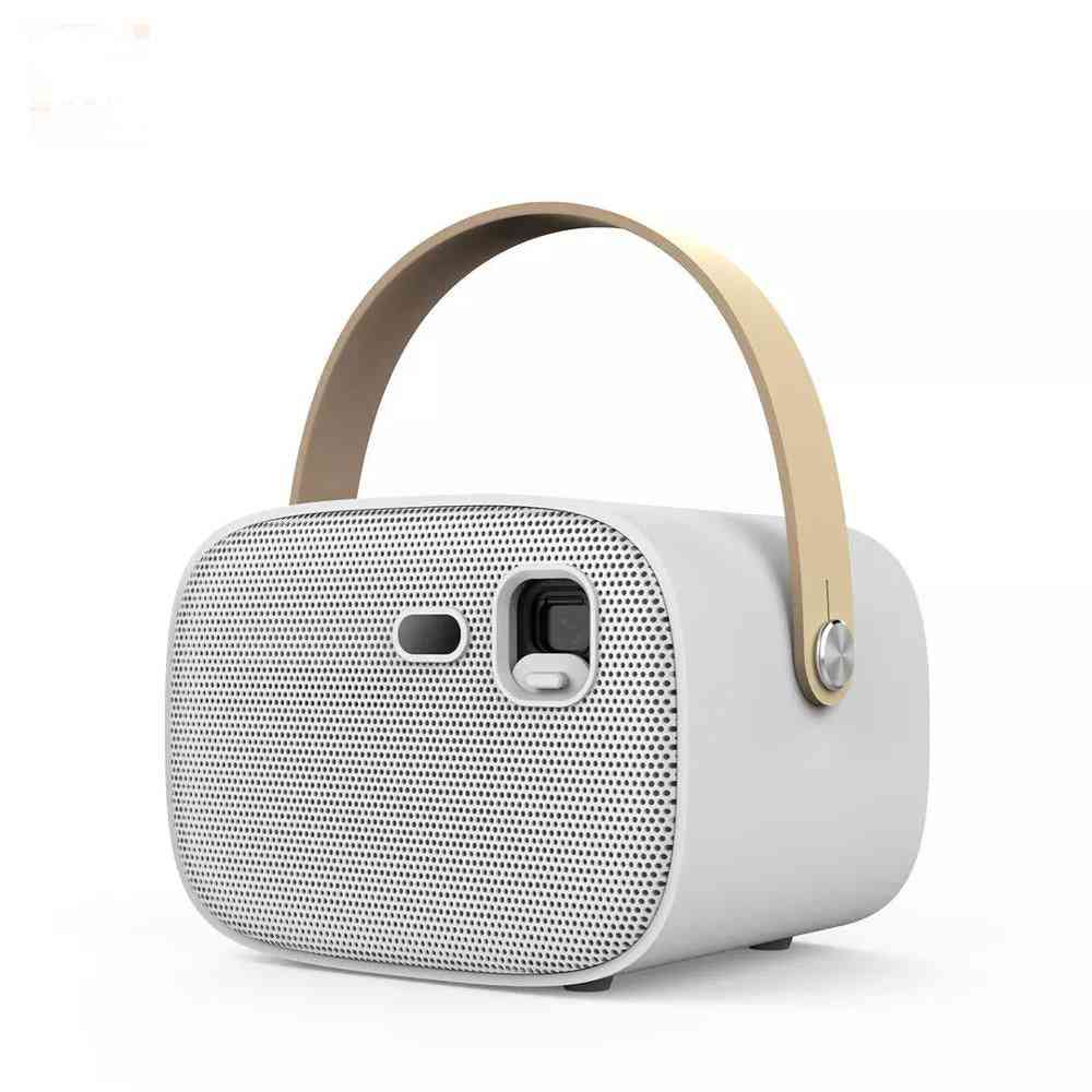 Smart Wireless, Bluetooth Projector With Remote Control