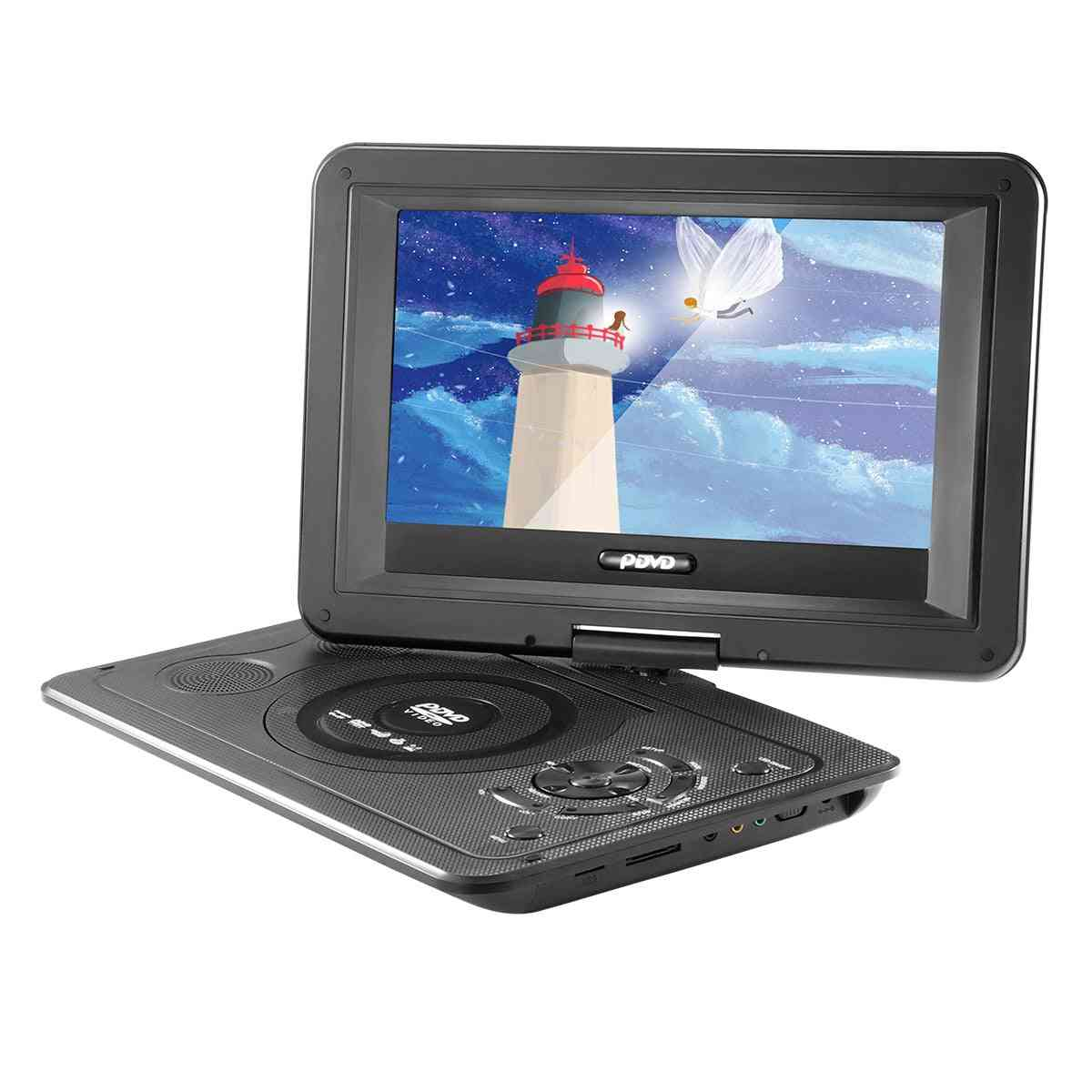 13.9 Inches Dvd Player - 16:9 Lcd Screen For Eu Plug