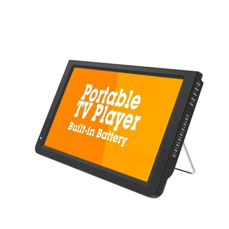 12 Inch Portable Mini Tv Supports Atsc/h265/hevc Dolby, With Car Charger Mount
