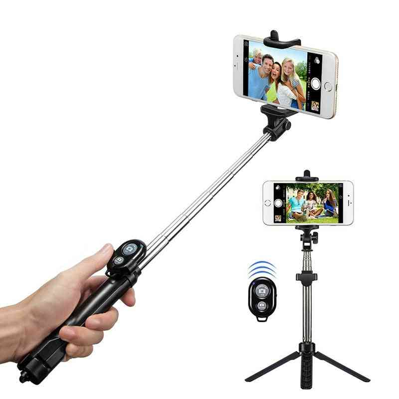 Tripod / Monopod Selfie Stick For Ios