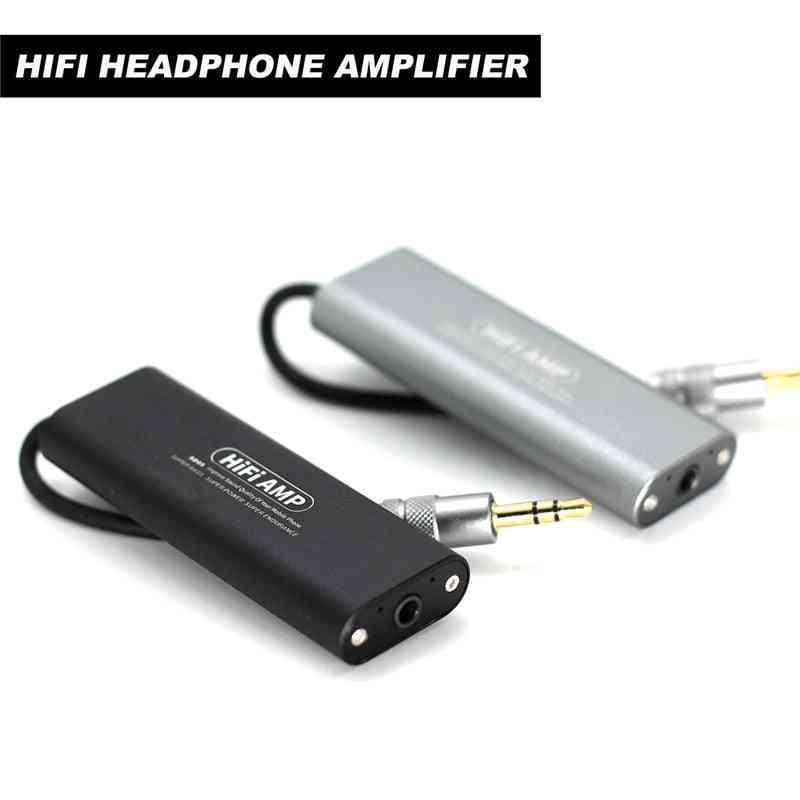 Sd05 Mini Headphone, Earphone Amplifier, Hifi Stereo Audio Amp For Cellphones