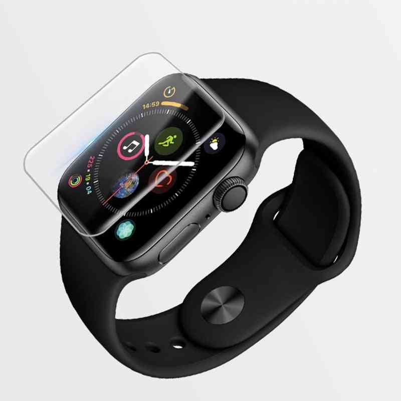 Full Screen Glass Protector For Apple Watch-curved Edges